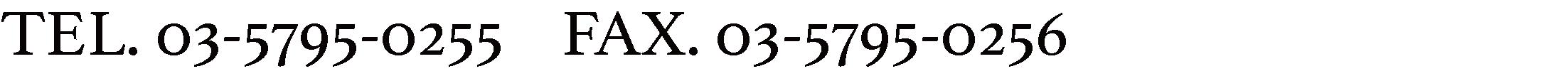 TEL.03-6804-3933 TEL.03-6804-3977